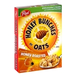 Ralston Cereal Honey Bunches Of Oats Roasted - 14.5 Oz.