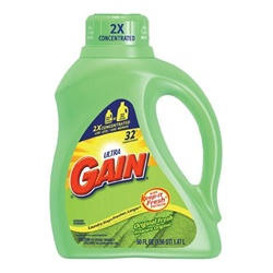 Procter and Gamble Gain Liquid Laundry Detergent Original - 50 Oz.