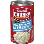 Chunky New England Clam Chowder Easy Open Soup - 18.8 Oz.