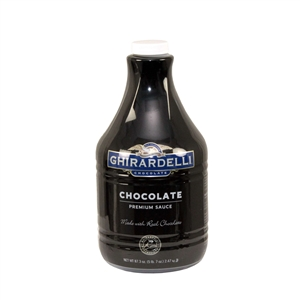 Ghirardelli Black Label Chocolate Sauce - 64Oz.