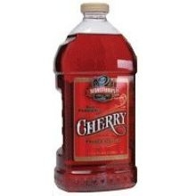 FSI Beverage Sebastianos Single Strength Cherry Syrup - 2.5 Gal.