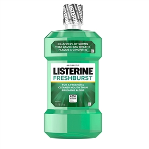 Johnson and Johnson Listerine Freshburst Antiseptic Mouthwash
