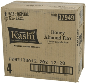 Kelloggs Kashi Chewy Honey Almond Flax Granola Bar - 1.2 Oz.
