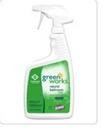 Clorox Commercial Solutions Green Works Bathroom Spray Cleaner - 24 Oz.