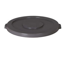 Continental Plastic Husky Lid Container Gray - 20 Gal.
