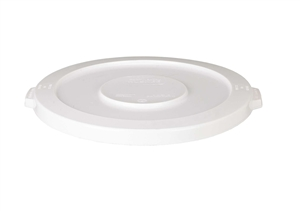 Continental Plastic Huskee Lid White - 20 Gal.