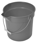 Continental Plastic Gray Bucket With Spout - 14 Qt.