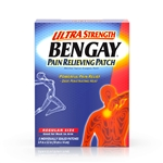 Bengay Ultra Patch Strength Regular