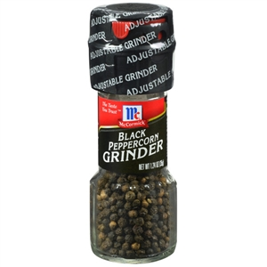 McCormick Black Peppercorn 1.24 oz. Grinder