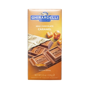 Milk with Caramel Filling Chocolate Bar - 3.5 Oz.