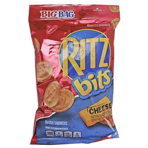Ritz Bits Cheese Big Bag Snacks - 3 Oz.