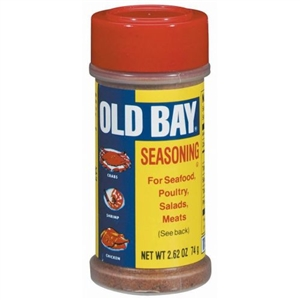 Old Bay Seafood Seasoning Shaker Bottle - 2.62 Oz.