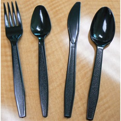 Goldmax Cutlery Heavy Weight Teaspoon Black