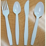 Goldmax Cutlery Heavy Weight Soup Spoon White
