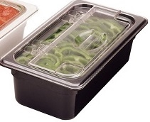 Cambro Food Pan Long Black Half Size