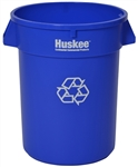 Continental Recycle Husky Container Blue - 32 Gal.