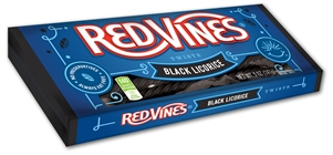 Red Vines Black Licorice Twists Candy - 5 Oz.