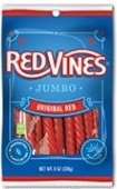 American Licorice Red Vines Original 8 oz. Red Twist Candy