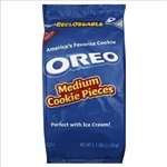 Kraft Nabisco Oreo Resealable Medium Crunch With Filling Pieces - 2.5 Lb.