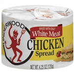 B and G Foods Underwood Chicken 4.25 oz. White Meat Spread