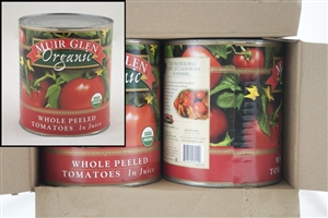 Muir Glen Organic Whole Peeled Tomato - 102 Oz.