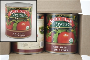 General Mills Muir Glen Crushed Tomato In Puree - 104 Oz.