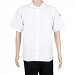 BVT-Chef Revival Unisex White Extra Large Cook Shirt