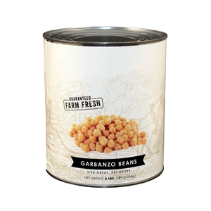 Canned Bella Vista Fancy Garbanzo Chick Peas Beans 110 Oz.