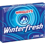 Wrigleys Winterfresh Single Serve Gum 15 Piece