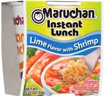 Maruchan Instant Lunch Lime Shrimp 2.25 oz. Noodle Soup