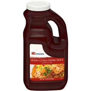 Nestle Minors Honey Citrus Pepper Sauce - 0.5 Gal.