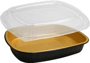 Gourmet To Go Entree Large Pan with Dome Lid