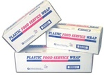 Inteplast PVC Food Wrap Film With Cutter - 18 in. x 2000 in.