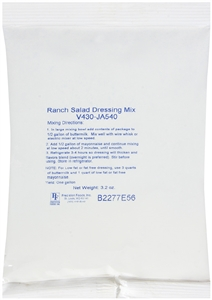 Ranch Salad Dressing Mix - 3.2 Oz.