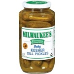 Pinnacle Milwaukee Kosher Baby Dill Pickle - 32 Oz.
