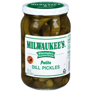 Pinnacle Milwaukee Midget Dill Pickle - 32 Oz.