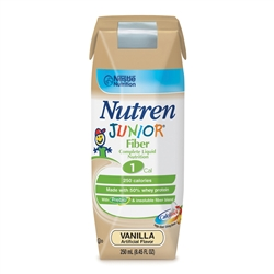 Nutren Junior Fiber Vanilla Complete Liquid Nutrition - 8.45 fl.oz.