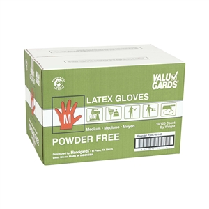 Handgard Eclipse Value Medium Latex Glove Powder Free