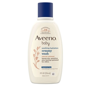 Aveeno Baby Smooth Relief Creamy Wash - 8 Fl. Oz.