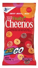 General Mills Fruity Cheerios Cereal In a Pouch - 0.88 Oz.