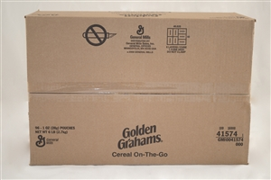 Golden Graham Cereal Pouch - 1 Oz.