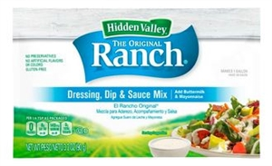 Clorox Hidden Valley Original Ranch Dressing Dry Mix 1 Gal.