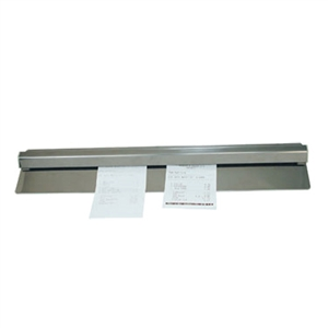 Stainless Steel Check Holder Wall-Mount - 36 in.