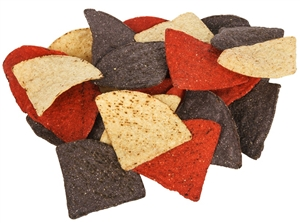Mission Foods Triangles Tricolor Tortilla Chips - 2 Lb.