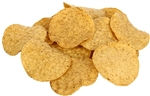 Mission Foods Round Yellow Tortilla Chips - 2 Lb.