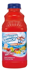 Motts Hawaiian Punch Fruit Juicy Red - 32 Oz.
