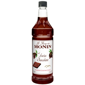 Monin Swiss Chocolate Syrup - 1 Liter