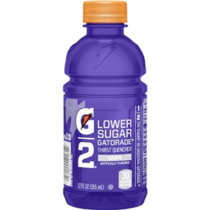 Pepsico G2 Gatorade Grape Drink - 12 Oz.