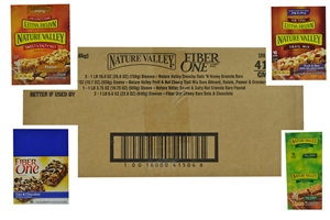 General Mills Nature Valley Snack Bars Variety Pack - 23.49 Oz.