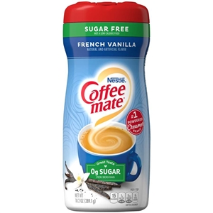 Coffee-Mate French Vanilla Powder Sugar Free - 10.2 Oz.